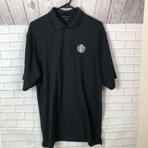 Starbucks Polo Golf Shirt Size Large ☕️